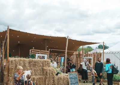 Nash White hair Stall at Feastival. Image by James Ranken