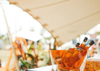 Aperol Spritz for Silvertown Grace at Feastival. Image by James Ranken