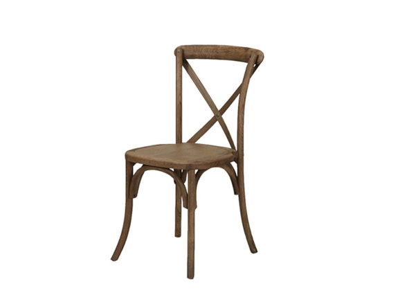 wooden crossback chairs