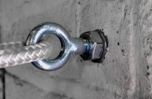 eyebolt in wall