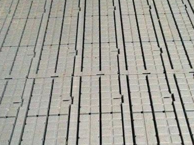 hard plastic flooring panels