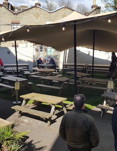 pub stretch tent cover