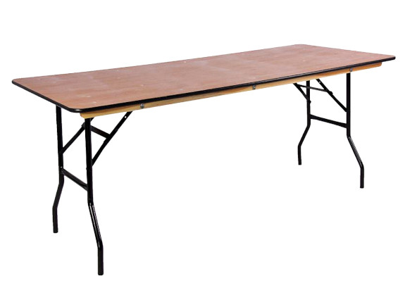 folding trestle tables