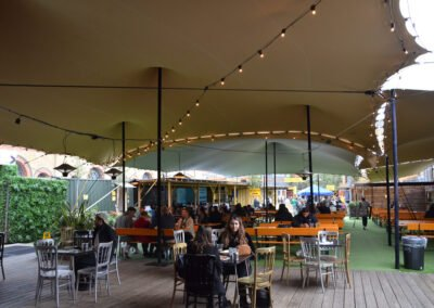 Vinegar Yard stretch tent