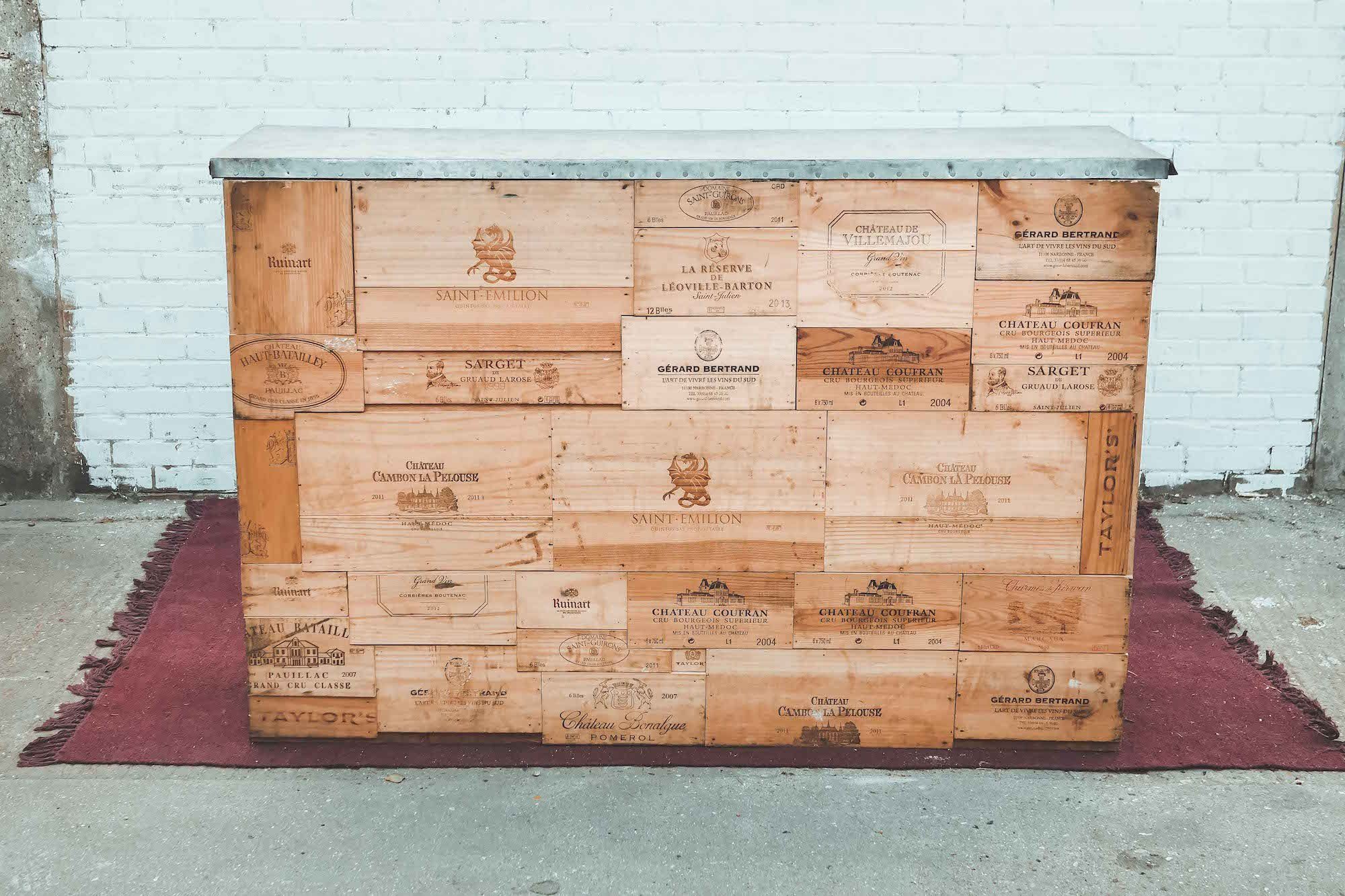Wine Crate Bar