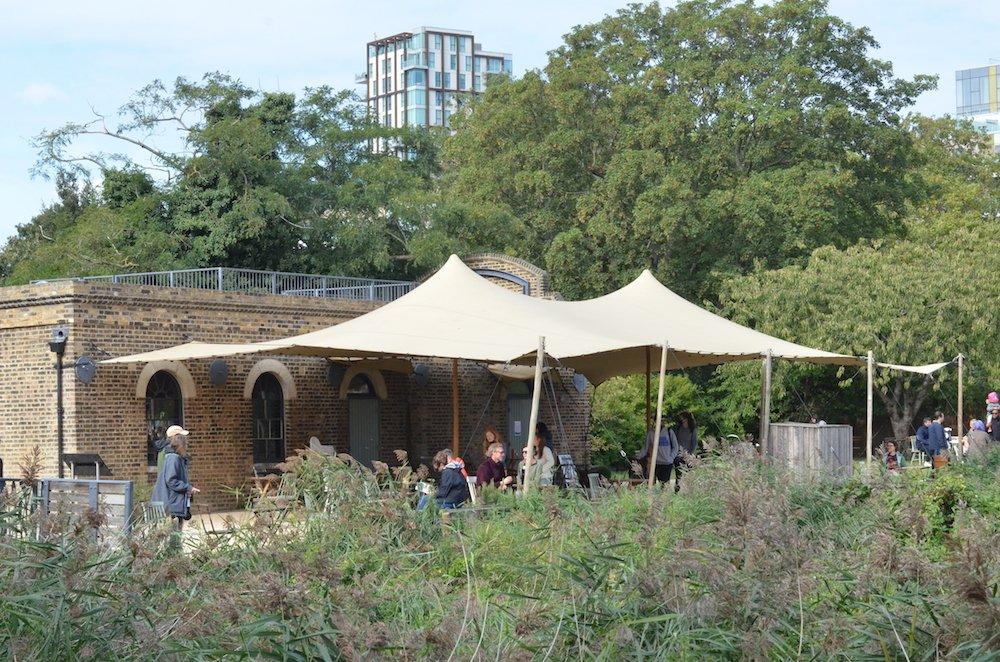 Woodbury Wetlands Tent