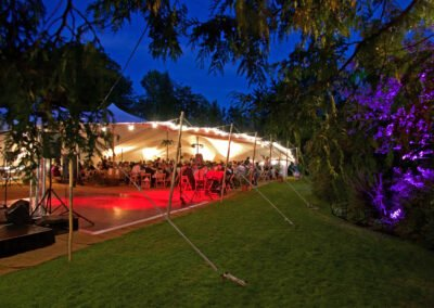 Dance Floor, Lighting & Tent Package