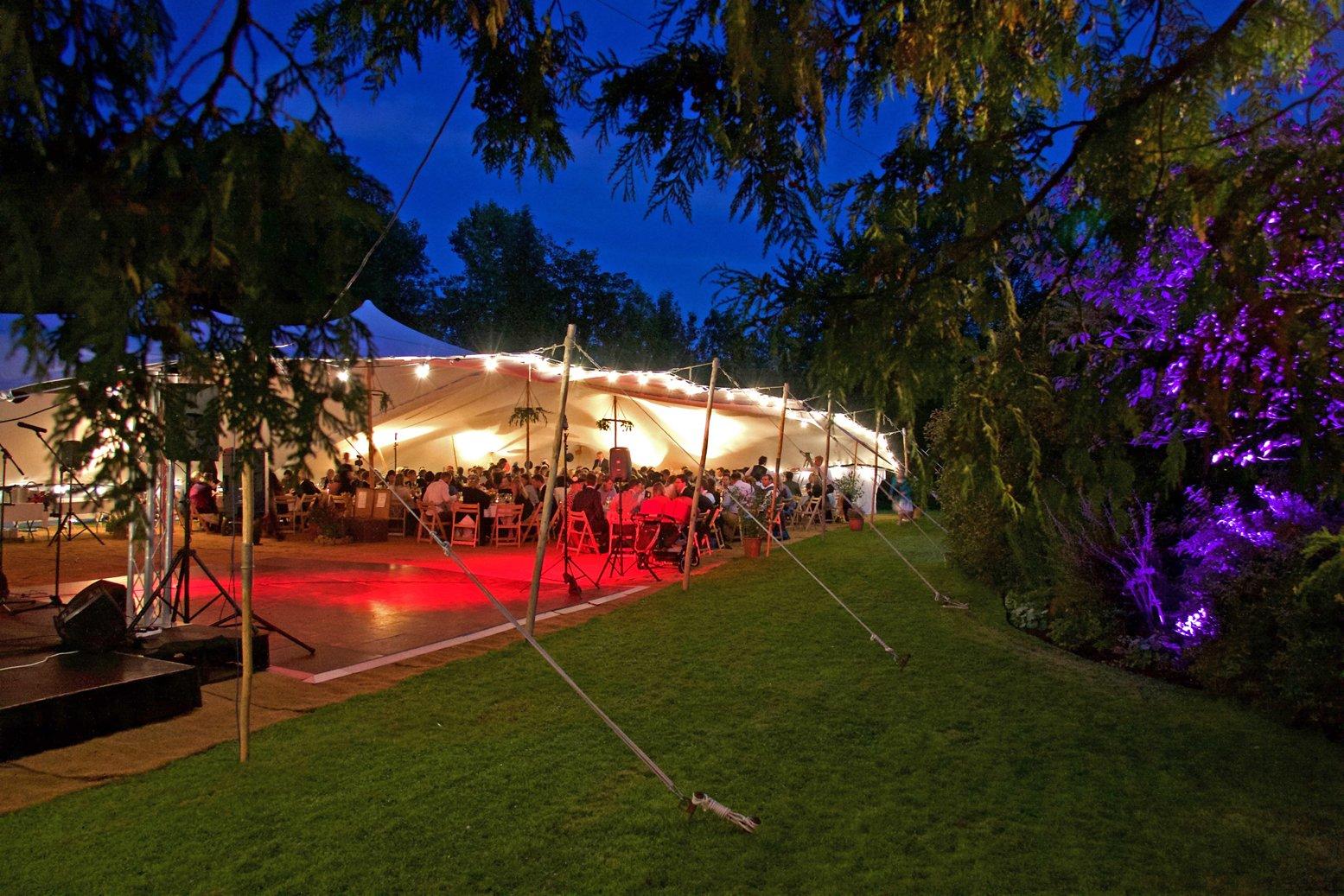 Dance Floor, Lighting & Tent Package