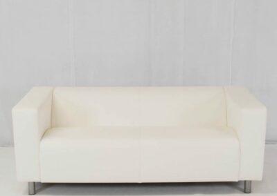 White Sofa Hire