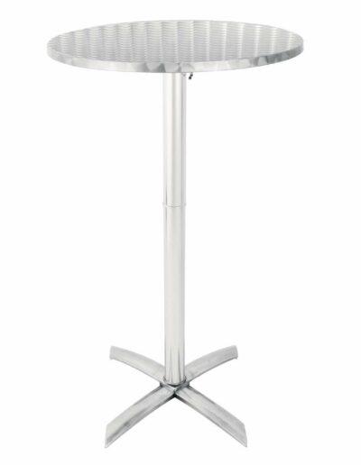 Metal Poseur Table
