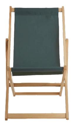 Green Deck Chair