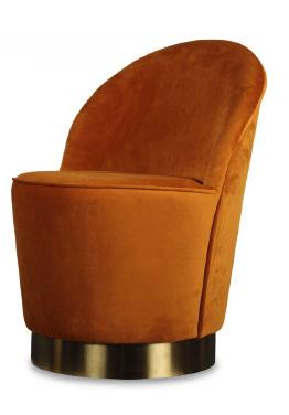 Orange Tub Chair